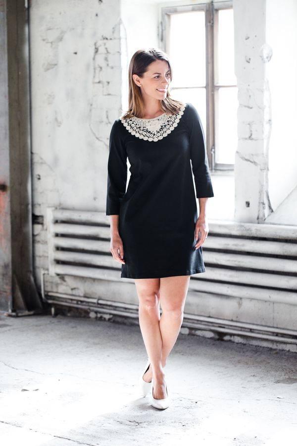 LUMOAN - Kleid Aava schwarz für Erwachsene