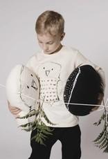 AARREKID - Langarm T-Shirt Owl crèmefarben