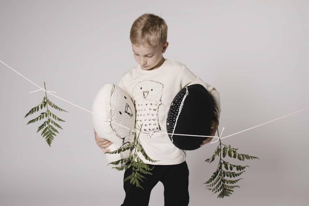 AARREKID - Longsleeve t-shirt Owl natural white