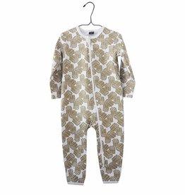 "PikkuSet / Baby pyjama jumpsuit ""Kultalaku"""