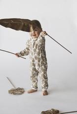 Baby jumpsuit Kultalaku gold/white