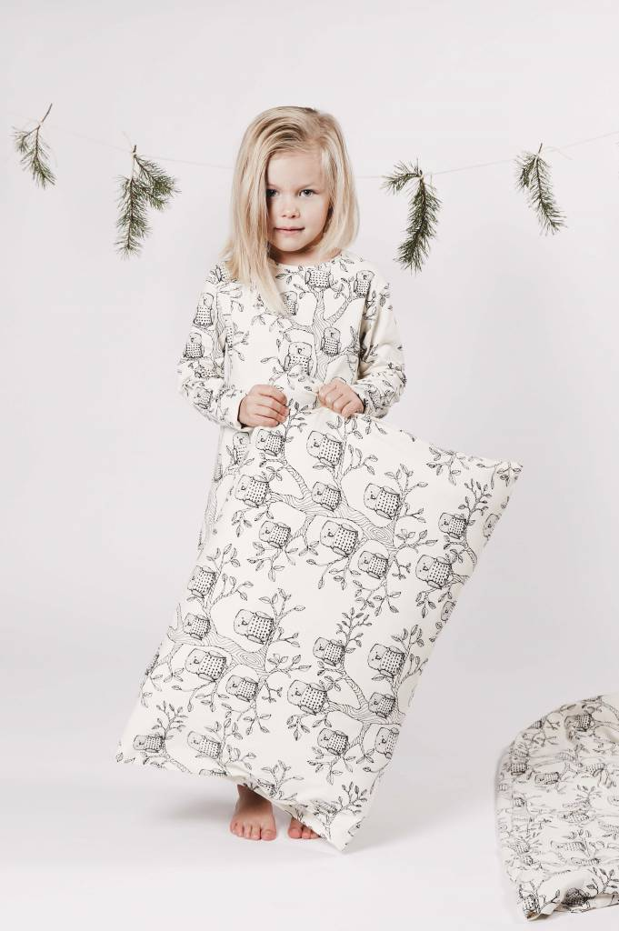 KIDS Bedclothes Owl from organic cotton