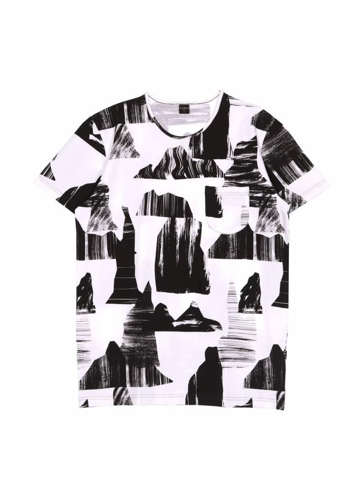 T-Shirt Mountains für Erwachsene