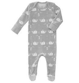 FRESK / Baby pyjama Whale dawn grey
