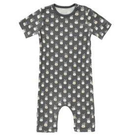 FRESK / Baby Pyjama Pineapple anthracite