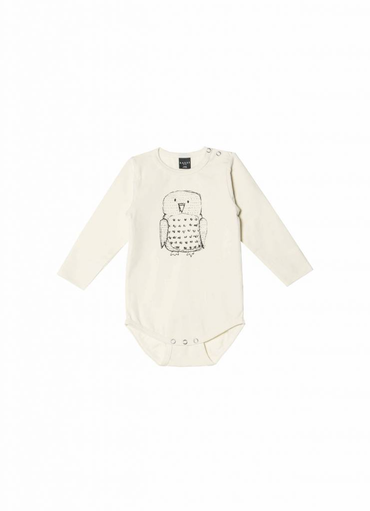 Baby Body Owl natural-coloured from organic cotton