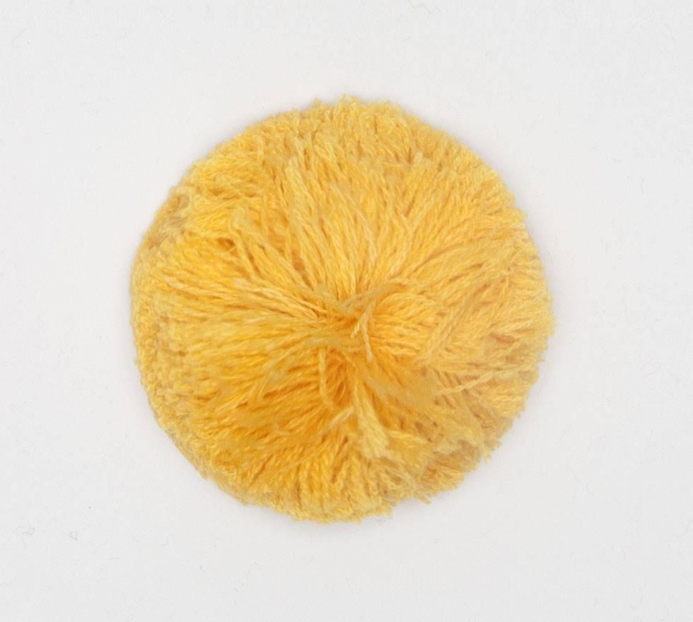 Detachable Bobble yellow