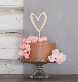 PUINE / Heart decoration for cakes
