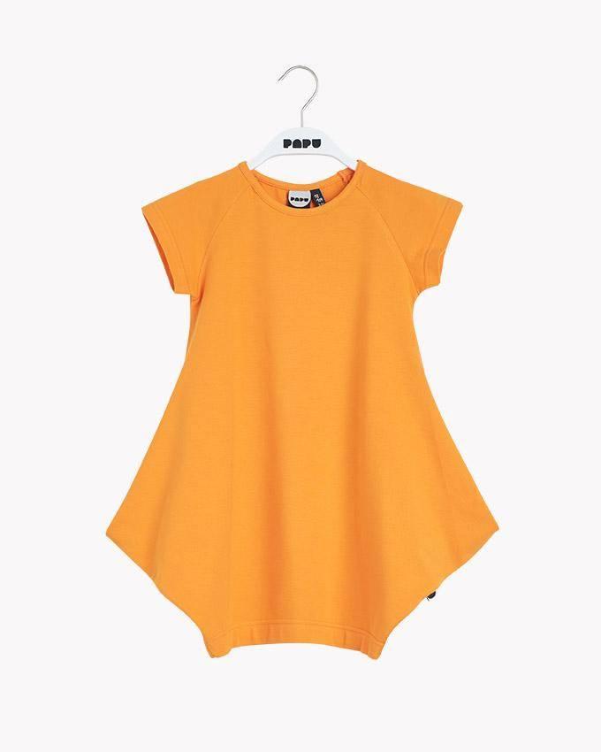 """PAPU - Kurzärmeliges Kleid """"Kanto"""" in Orange"""
