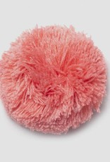Abnehmbarer Pompon korallfarben