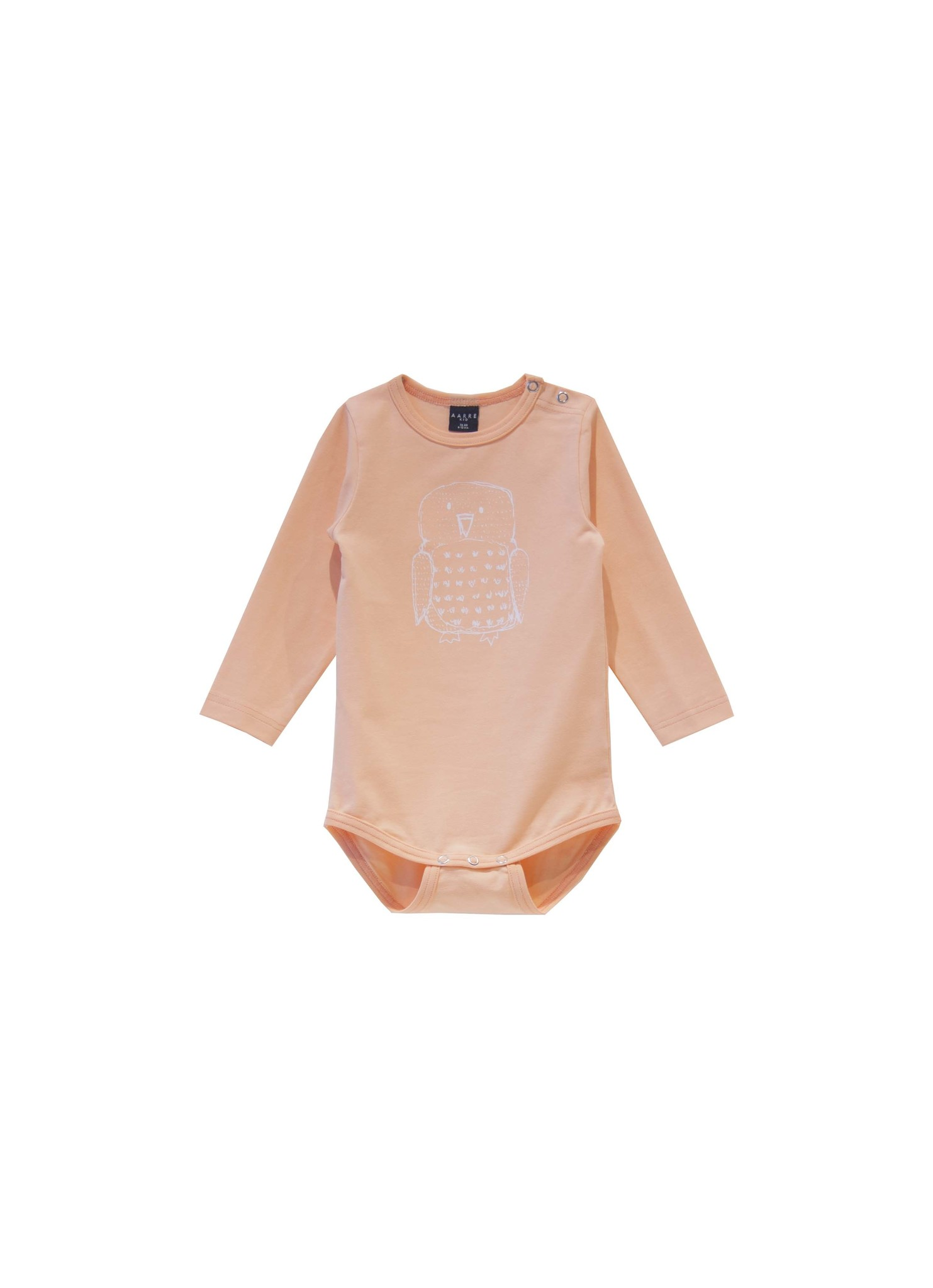 Body Owl orange/peach from organic cotton