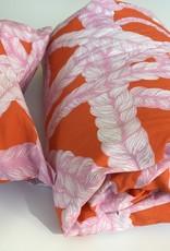 Bettwäsche in rosafarben aus Biobaumwolle