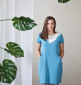 LUMOAN / Dress Iiris turquoise for adults