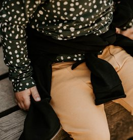 KAIKO / Sloper-Pants ochre-coloured