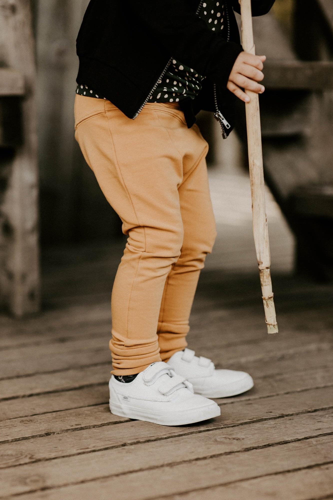 Sloper-Pants ocre