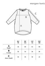 Longsleeve Tunika mit Taschen beigefarben