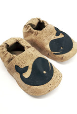 "Kids Slippers ""Whale""  from corc fabric"