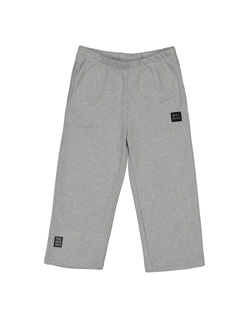 Pants in grey 100% recycled materials
