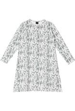 "Robe de nuit ""Pine"" blanc/vert"