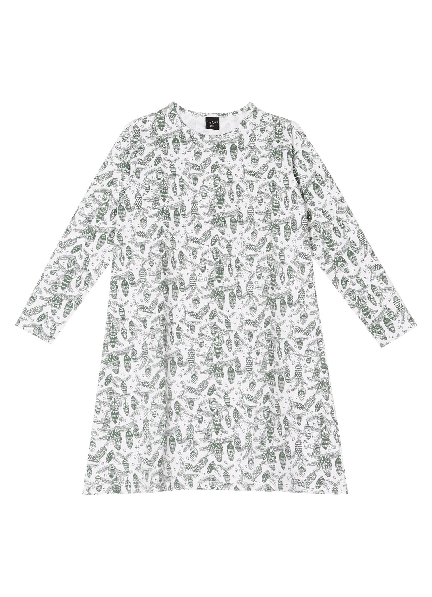"Nightgown ""Pine"" black/white"