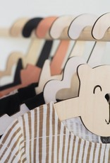 """Nalle"" Dress hanger for kids of birch plywood"