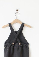 Dungarees in nearly black
