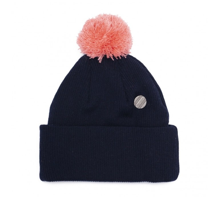 "ONE SIZE Beanie ""Navy Blue"" for adults"