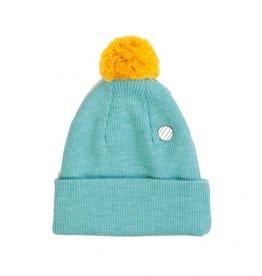 COSTO / Kinder Beanie Mütze mintfarben