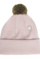 Beanie rose for adults