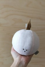 "Baby rattle ""Apple"" 100% linen"