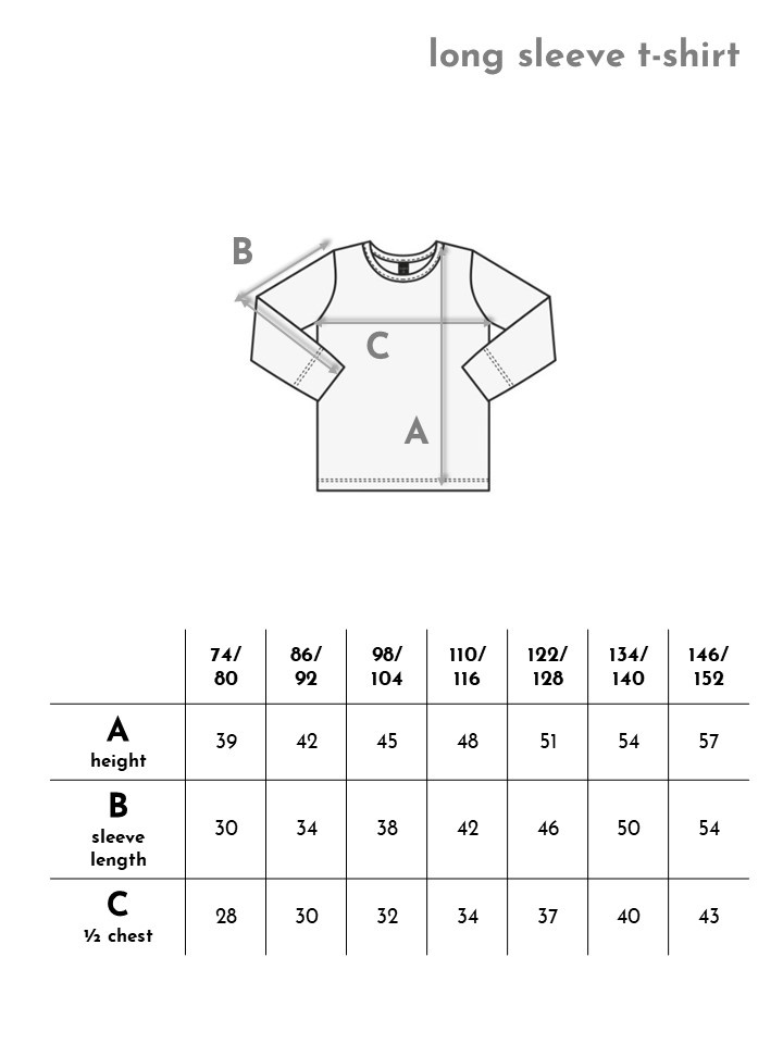 "Langarm T-Shirt ""Blue Minerals"" aus Recycling Material"