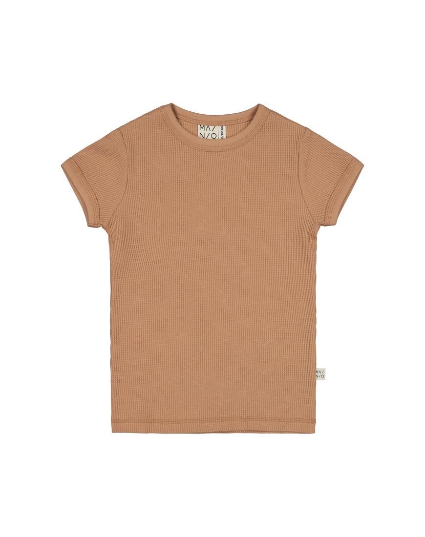 "Waffel T-Shirt ""toasted nut"""