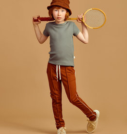 MAINIO CLOTHING / Waffel T-Shirt Agavengrün