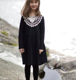 LUMOAN / Kinder Kleid Alisa schwarz