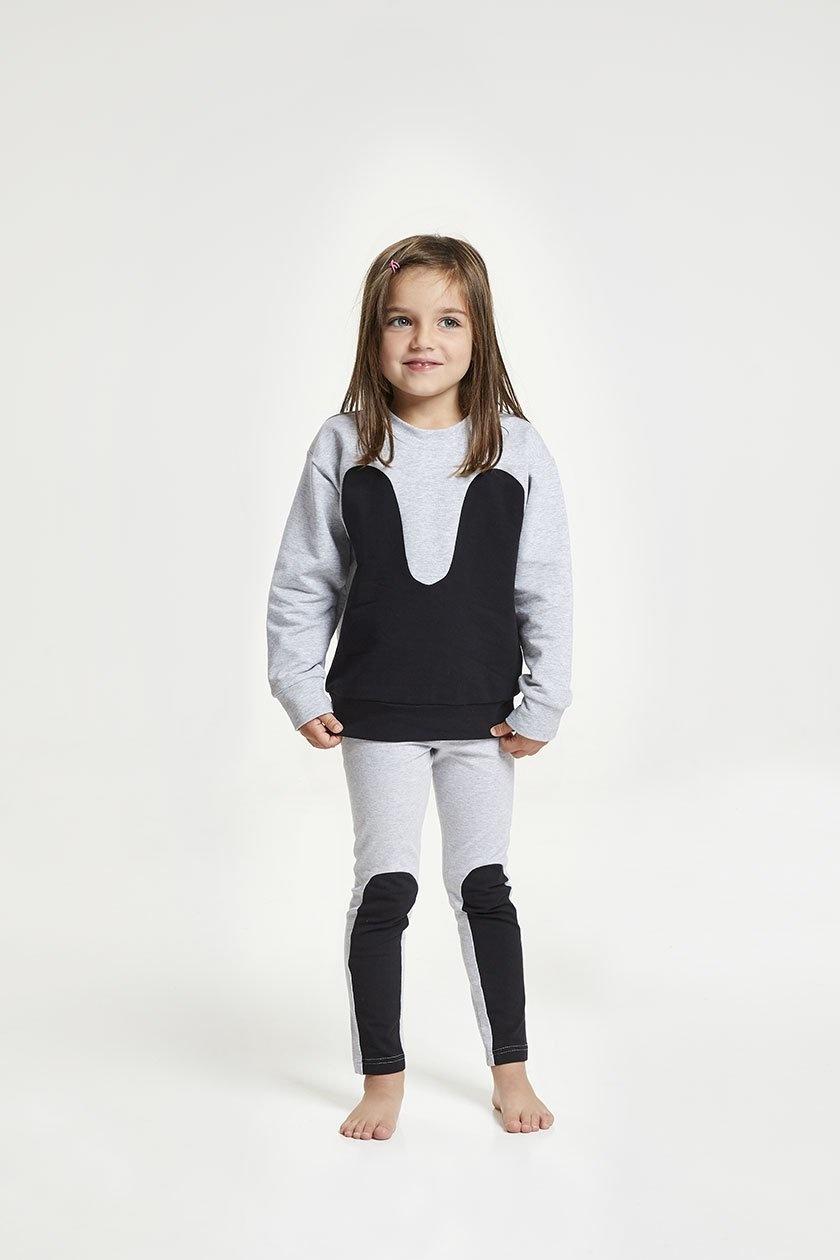 Magic Sweater grey black