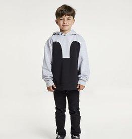 R/H / Mickey Hoodie grey black