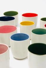 """Set de tasses """"Pastilli"""" blanc/couleur"""