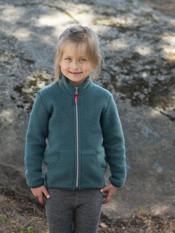 Blouson de laine de mérinos pour enfants
