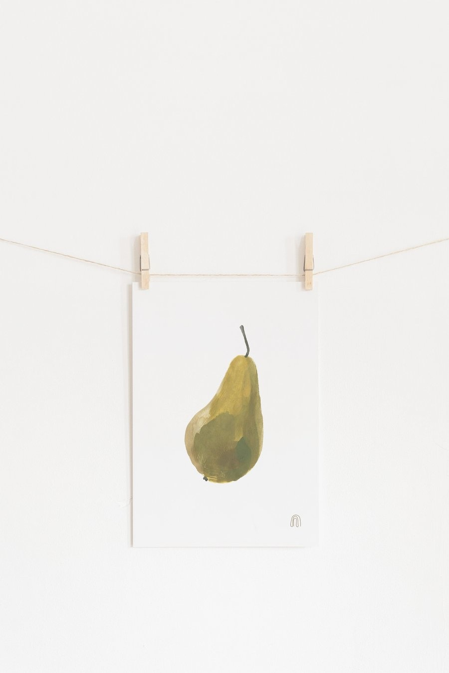 Pear Art poster