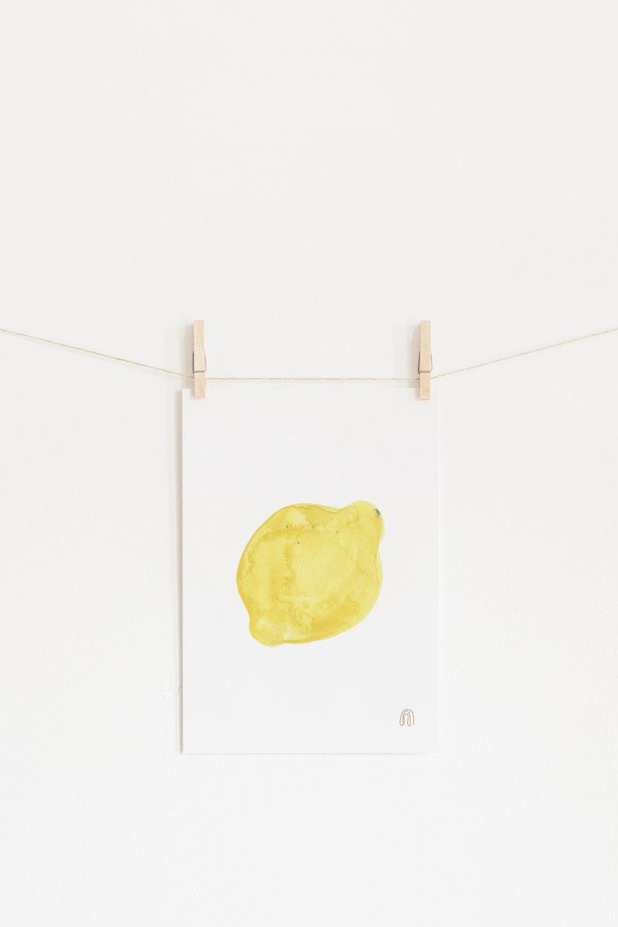 Citron Art poster