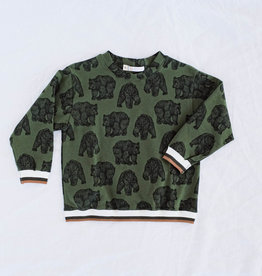 "WANDERER / Sommer Sweater ""GRIZZLY"""