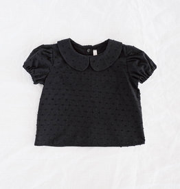 "WANDERER / Blouse ""BLACKY"" from cotton"
