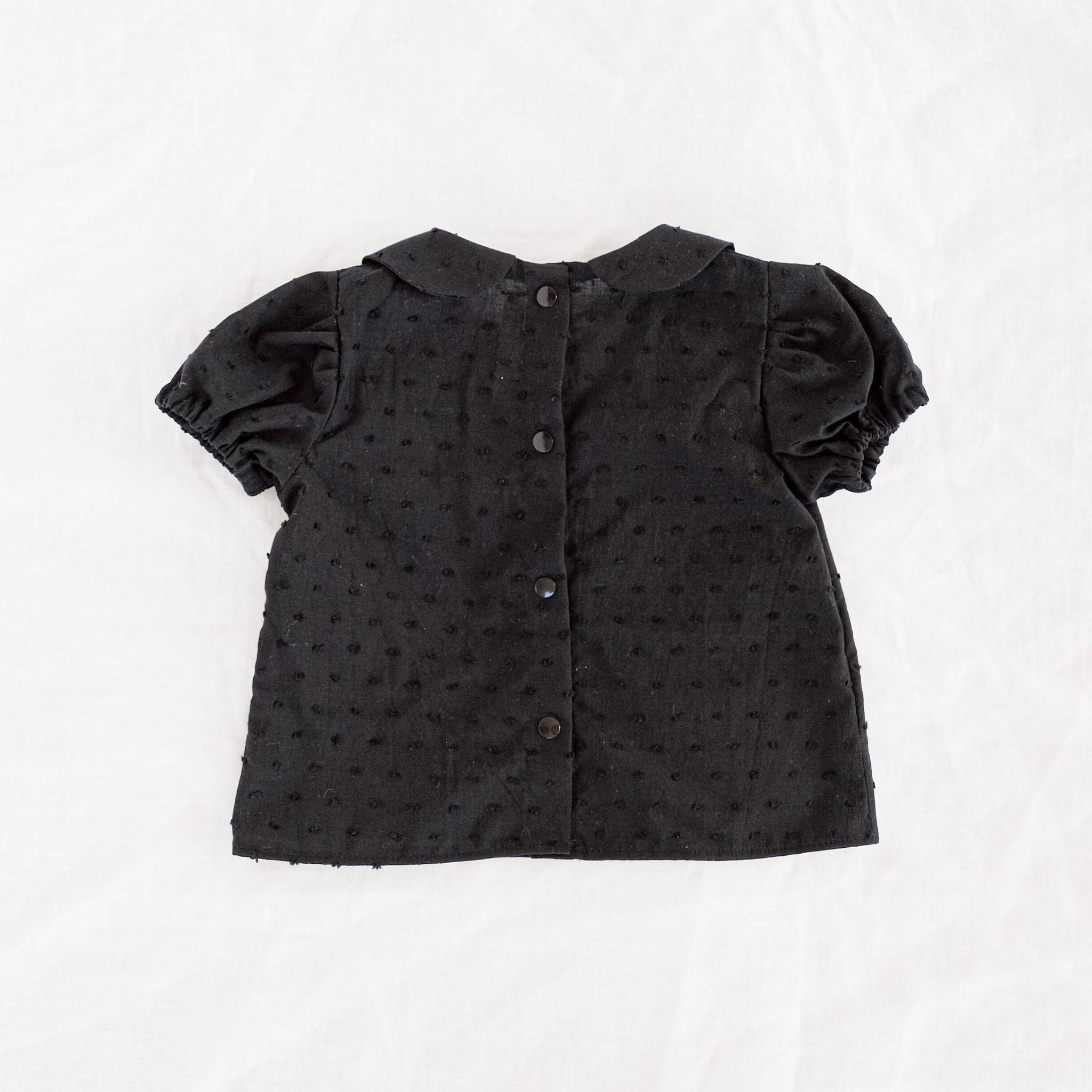 """Bluse """"BLACKY"""" aus Baumwolle"""