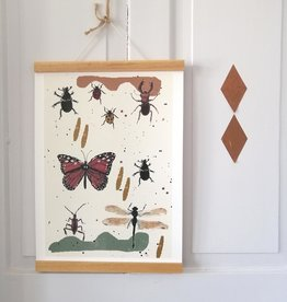 "MONTSCHITCHI/ Poster ""Spring Awakening"""