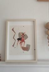 "Affiche ""Little Shy Bambi"""