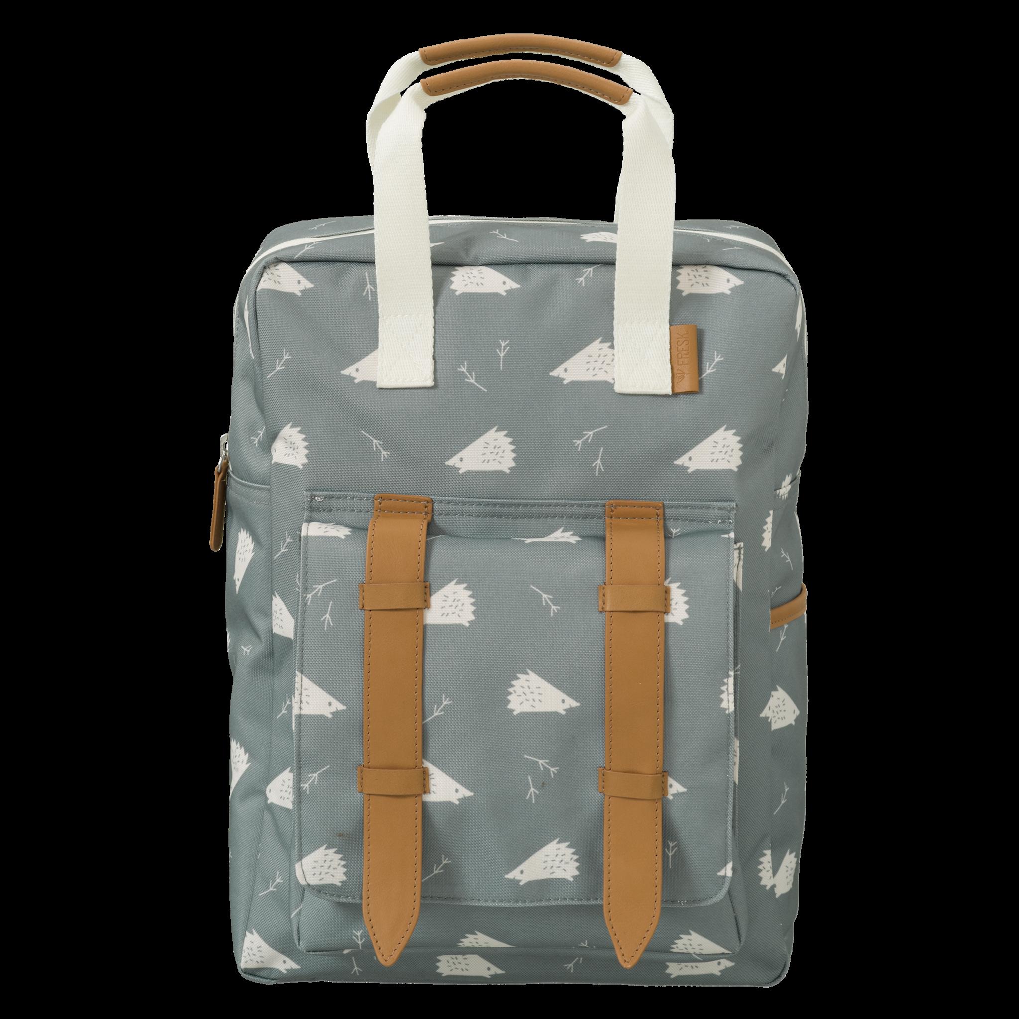 "Kids backpack ""Hedgehog"" made from recycled PET bottles"