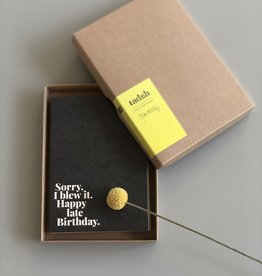 "TADAH / Postcard set of 10 ""Geburtstag"""