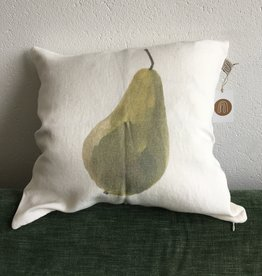 "KAARE LIVING / Pillow case ""Pear"" 100% linen"