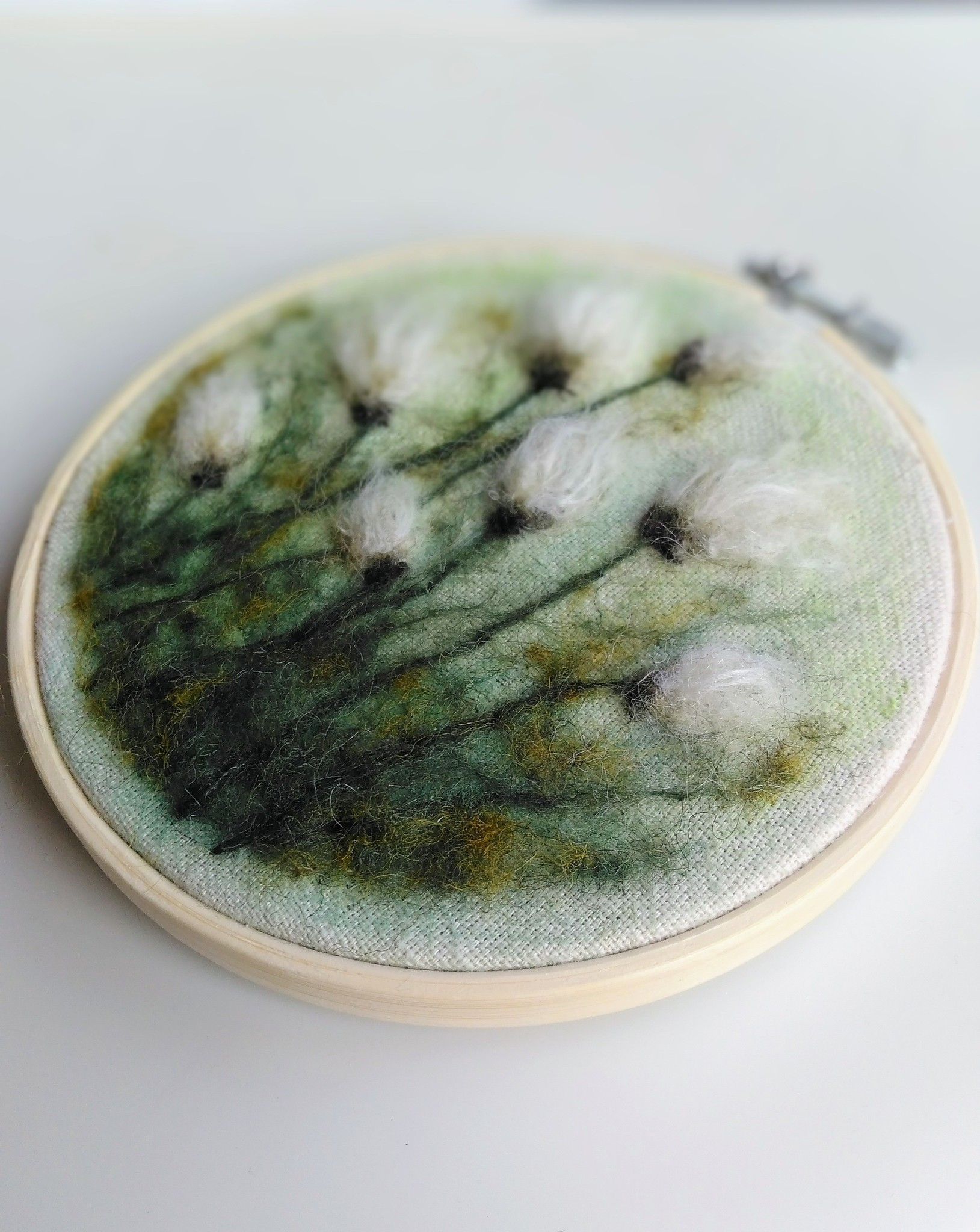 """Broderie d'art """"Woolen Flowers"""""""