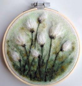 """KAUNOKKI HANDMADE / Broderie d'art """"Woolen Flowers"""""""